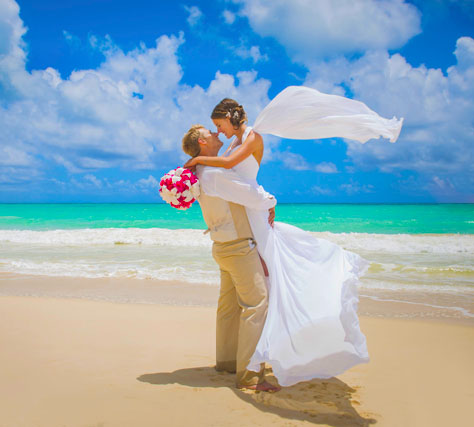 Beach Wedding in Boracay Island