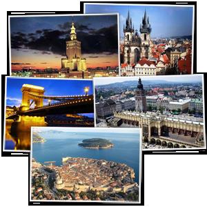 European vacation tour