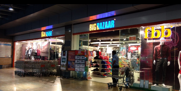Shopping Experience at Big Bazaar