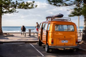 Living and traveling in a van